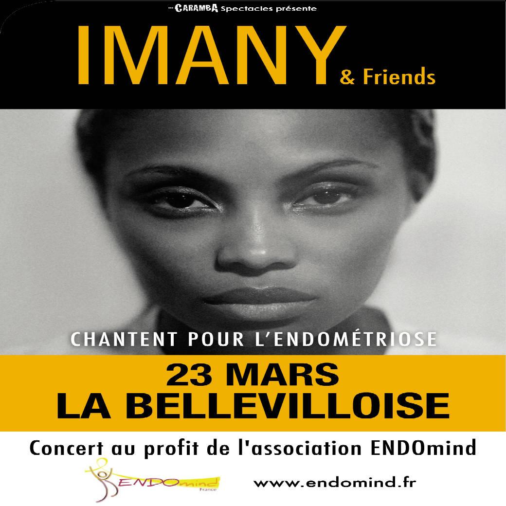 Imany & Friends chantent pour l'endométriose
