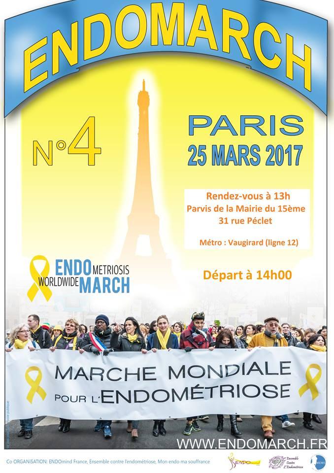 4e Endomarch le 25 Mars 2017