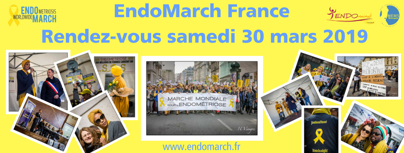 ENDOMARCH :  La marche pour l'endométriose